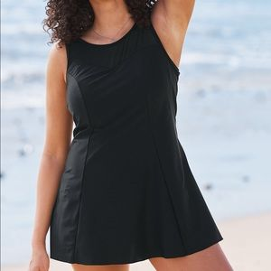 Swimsuits For All NWT Mesh-Trim Swimdress, 20